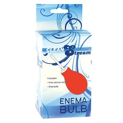 Enema Bulb - Small Red