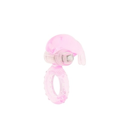 Conejillo Vibrating Ring - Pink