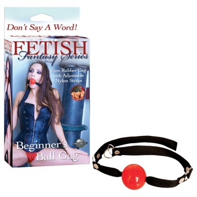 Ff Beginner's Ball Gag - Red