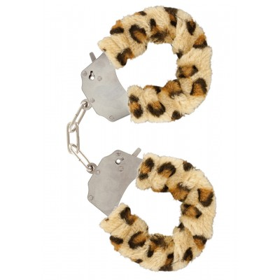 Furry Fun Cuffs Leopard Plush