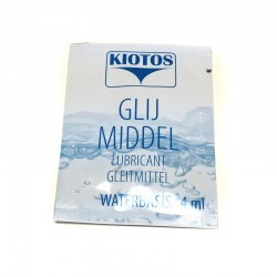 GRATIS - Kiotos Glijmiddel op Waterbasis - Sachet (4ml)