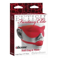 Ballgag & Mask Red