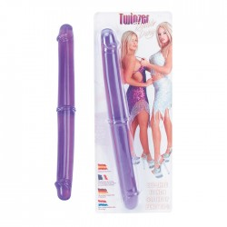 """Twinzer 12"""" Double Dong Purple"""