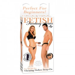 Ff Vibrating Hollow Strap On - Fles