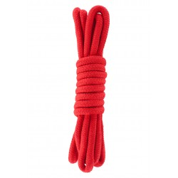 Bondage Rope 3 Meter Red