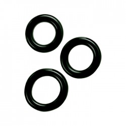 Colt 3 Ring Set Black