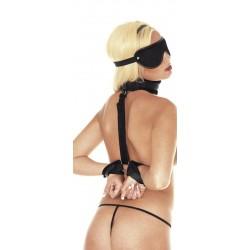 Soft bondage set met Klittenband (3-delig)
