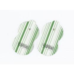 Electro Sex Plakpads, uni-polair (2 Stuks)