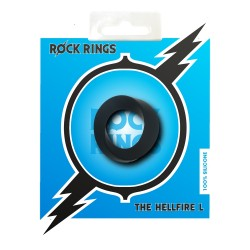 Rock Rings The Hellfire L Black