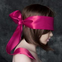 Rose Blindfold Satin Look