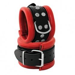 Handcuffs 6,5 cm - Red