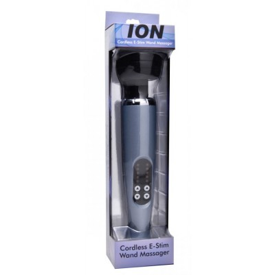 Ion Cordless Vibrating Estim Wand Massager