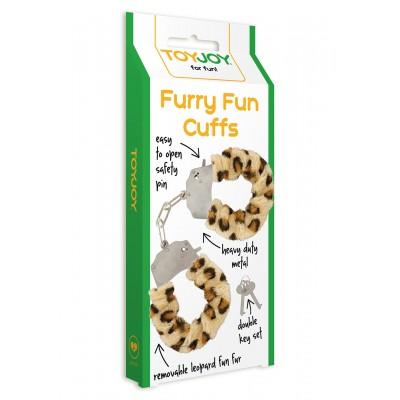 Furry Fun Cuffs Leopard Plush