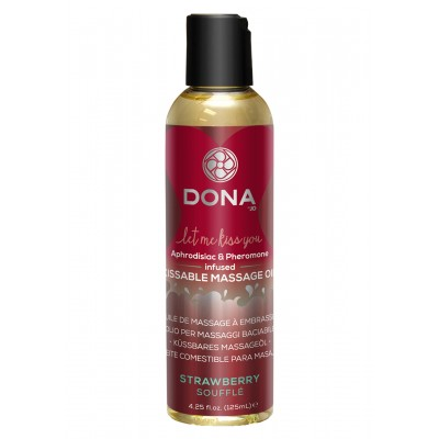 Kissable Massage Oil Strawb 110 ml