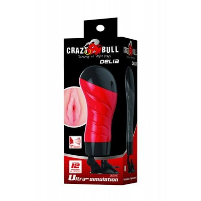 Crazy Bull - Delia Anal Voice + Vibrating