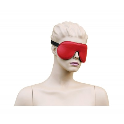 Eyemask Leather - Red